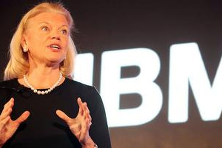 CEO IBM, Virginia Rometty