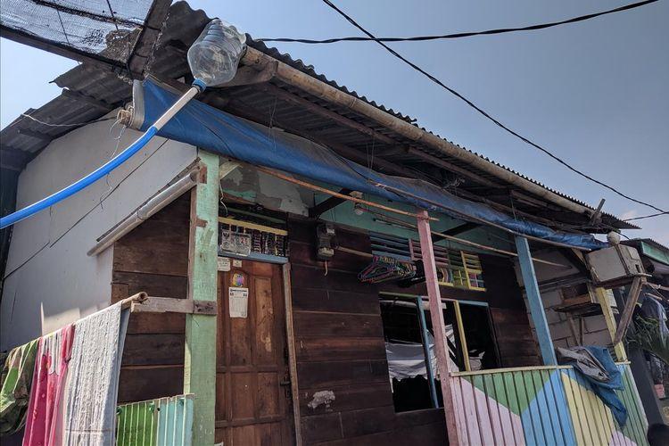 Kampung Penadah Hujan di Kamal Muara, Penjaringan, Jakarta Utara