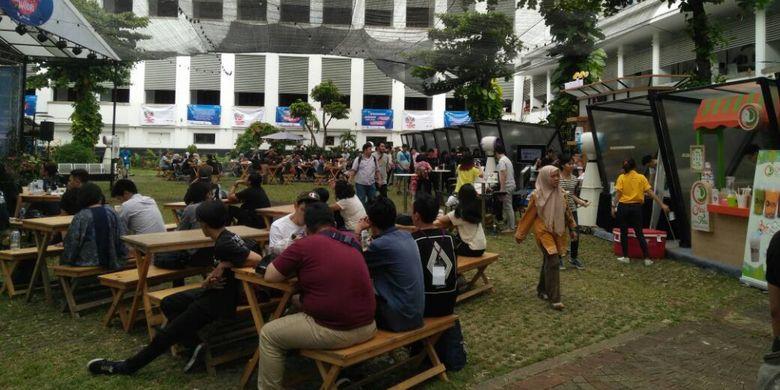 Pesta Kopi Mandiri yang diadakan di Museum Bank Mandiri Jakarta pada akhir pekan ini, 29-30 April 2017.t