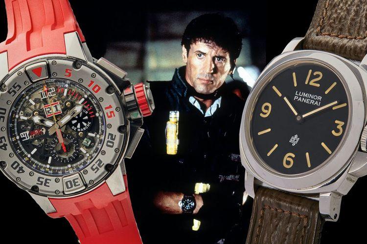 Jam tangan Sylvester Stallone