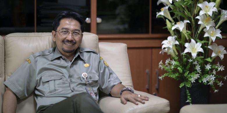 Direktur Jenderal Prasarana dan Sarana Pertanian (PSP) Kementan Sarwo Edhy, Selasa (10/4/2019).