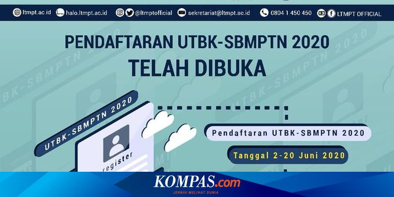 Link Contoh Soal TPS UTBK-SBMPTN 2020 dari LTMPT