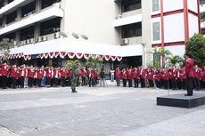 Gelar Upacara Gabungan Polri dan TNI, Untar Ajak Perkuat Integritas