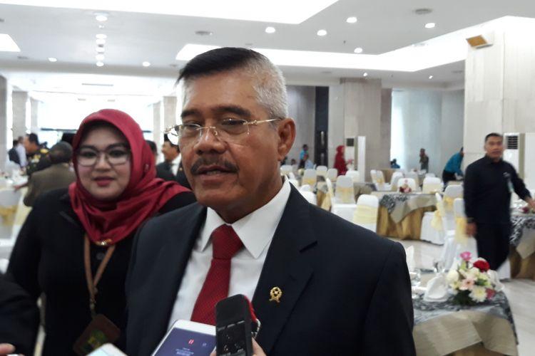 Ketua Mahkamah Agung Hatta Ali di Gedung MA Jakarta Pusat, Selasa (9/10/2018).