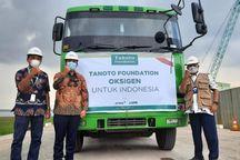 Peduli Pasien Covid-19, Tanoto Foundation Bagikan 500 Ton Oksigen