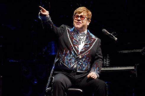 Konser dari Ruang Keluarga, Elton John Galang Dana Rp 133 M Bantu Atasi Corona