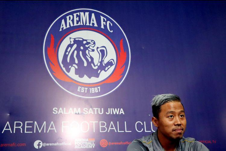 Kushedya Hari Yudo resmi menjadi bagian Arema FC untuk mengarungi kompetisi musim 2020.