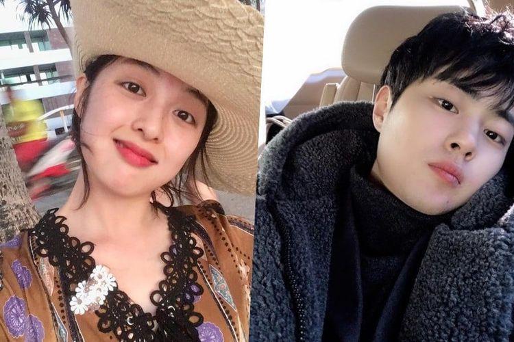 Bintang drama asal Korea Selatan Kim Bo Ra (kiri) dan Jo Byung Gyu