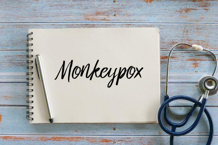 Ilustrasi Cacar Monyet