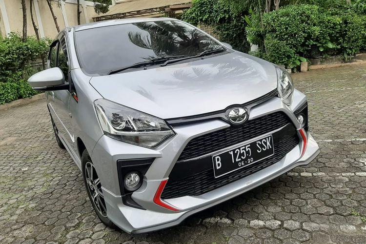 Tampilan Toyota Agya 2020
