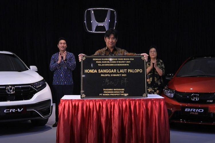 Peresmian diler pertama Honda di Palopo