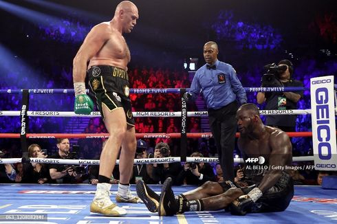 Kalah TKO dari Tyson Fury, Peringkat Deontay Wilder di Bawah Trio Inggris