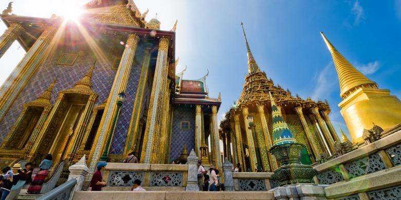 Grand Palace di Bangkok, Thailand.