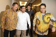 Lanjutkan Safari Politiknya, Prabowo Temui Airlangga Hartarto