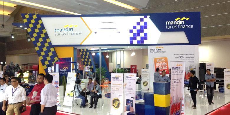 Booth PT Mandiri Tunas Finance.
