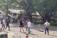 Berdebat dengan Demonstran Hong Kong, Kepala Pria 70 Tahun Dilempar Batu Bata