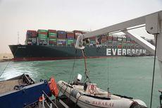 Kapal Ever Given yang Blokir Terusan Suez Diharapkan Mengapung Lagi Minggu Malam