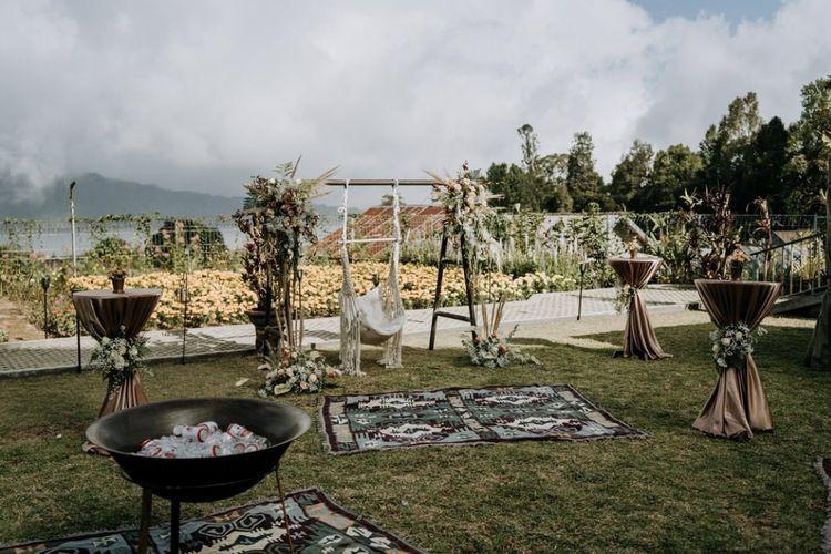 Tempat wisata bernama Rumah Gemuk yang berlokasi di Kabupaten Tabanan, Bali (dok. Rumah Gemuk/Credit: E X O Moments).