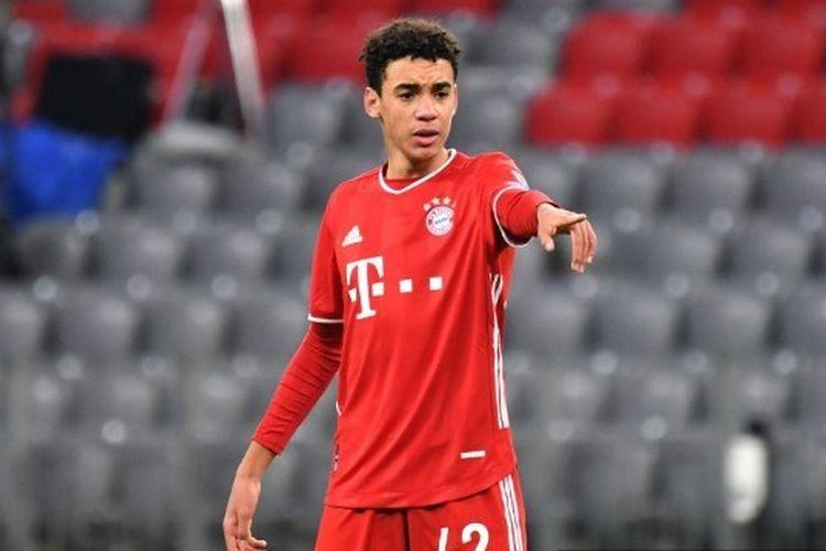 Pemain muda Bayern Muenchen, Jamal Musiala.
