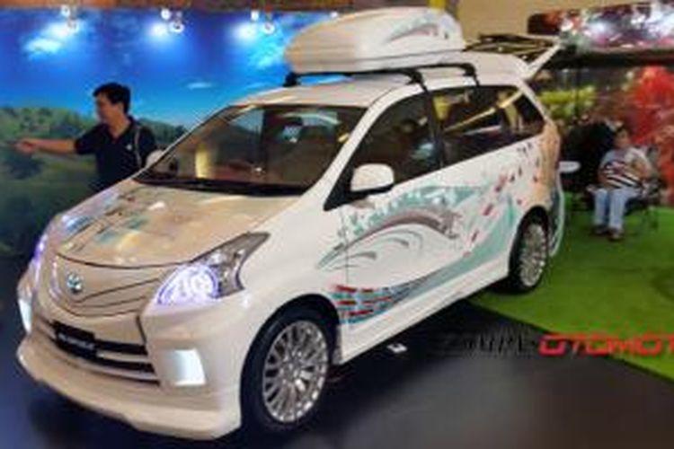 Avri (Avanza Recreation Vehicle), nongkrong di Avanza Garage, 18-20 Juli 2014, di Sumarecon Mall Serpong, Tangerang Selatan.