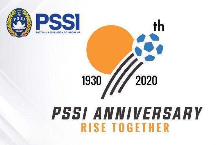 Logo Ulah Tahun ke-90 PSSI, 19 April 1930-19 APril 2020.