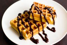 Resep Waffle Saus Cokelat yang Fluffy, Kue Manis buat Sarapan