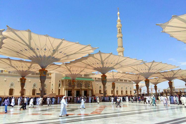 ILUSTRASI - Umrah di Medina