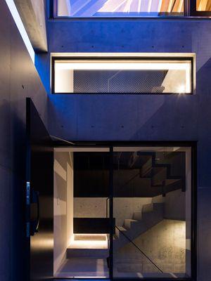 Rumah dengan desain tahan gempa.