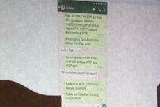 Melalui WhatsApp, Sekjen Kemendes Sarankan Irjen Lakukan Pendekatan ke BPK