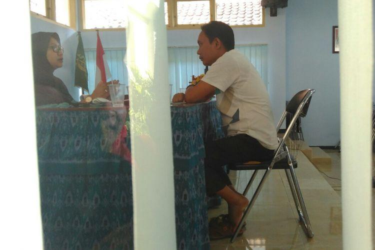 Pemeriksaan oknum anggota DPRD Mataram dilakukan di kantor Kejaksaan Negeri Mataram.