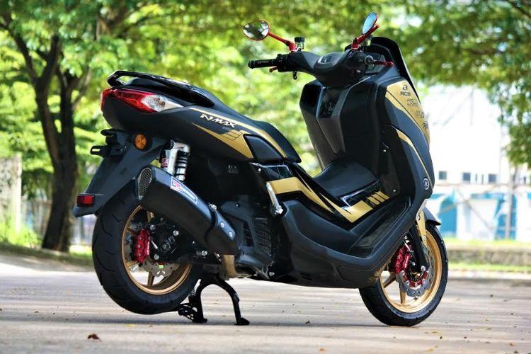Yamaha Nmax modifikasi harian