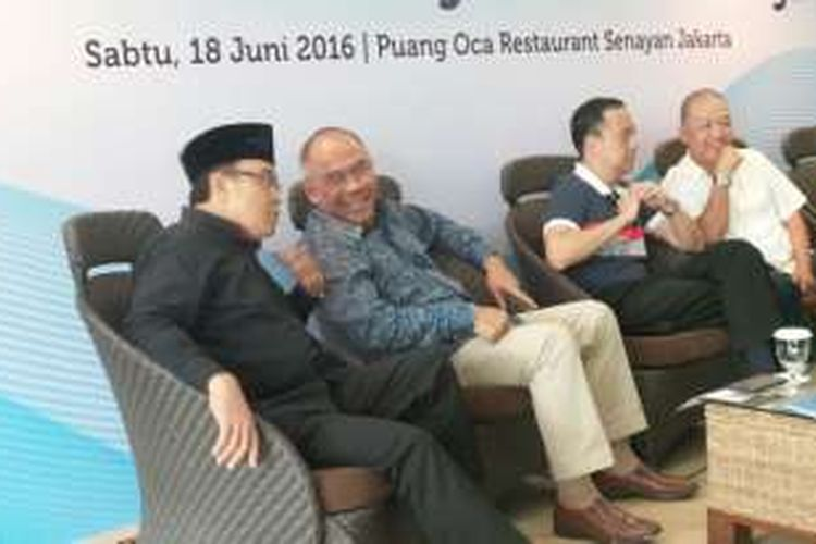 Diskusi Rantai Pasok Pangan Membelit Harga di Jakarta, Sabtu (18/6/2016).