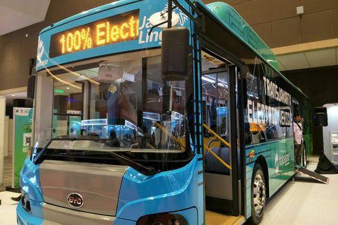 Menanti Bus Listrik Mondar-mandir di Jakarta...