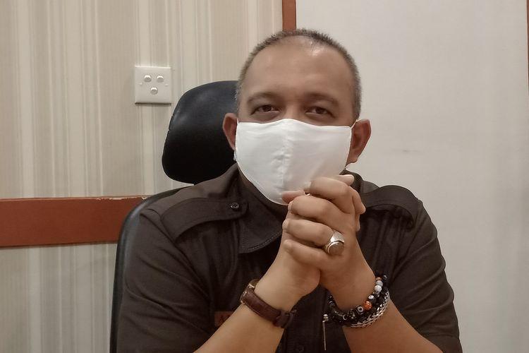Kepala Dinas Perdagangan Kota Padang Andree Algamar