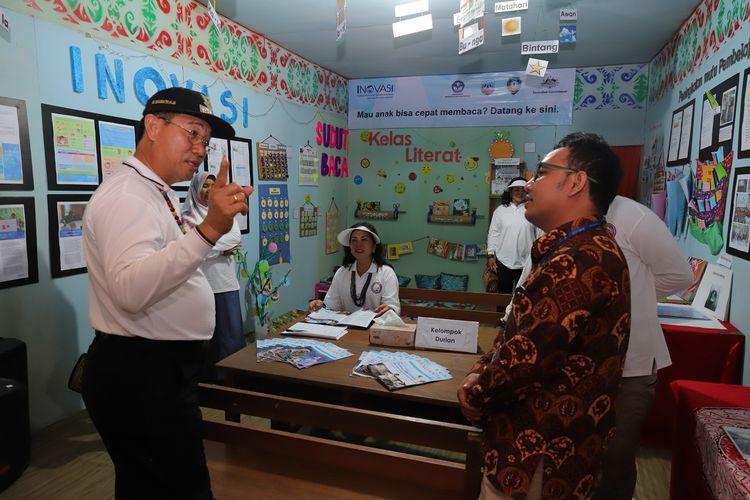 Bupati Malinau, Dr. Yansen Tipan Padan menjelaskan Program Gerdema beberapa waktu lalu. Malinau merupakan daerah paling ujung di utara Kalimantan.