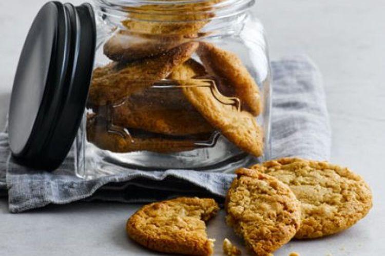 Ilustrasi Peanut Butter Cookies.