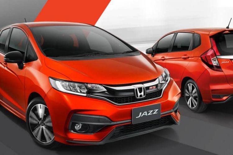 Honda Jazz RS facelift Thailand