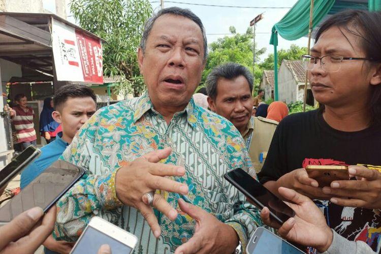 Wakil Wali Kota Tangsel, Benyamin Davnie mengatakan, Pemkot Tangsel akan melakukan koordinasi dengan Balai Besar Wilayah Sungai Ciliwung Cisadane (BBWSCC) untuk mengatasi banjir di wilayah Tangerang Selatan. Hal tersebut dikatakan saat meninjau Perumahan Pesona Serpong, Setu, Tangsel, Selasa (4/2/2020)