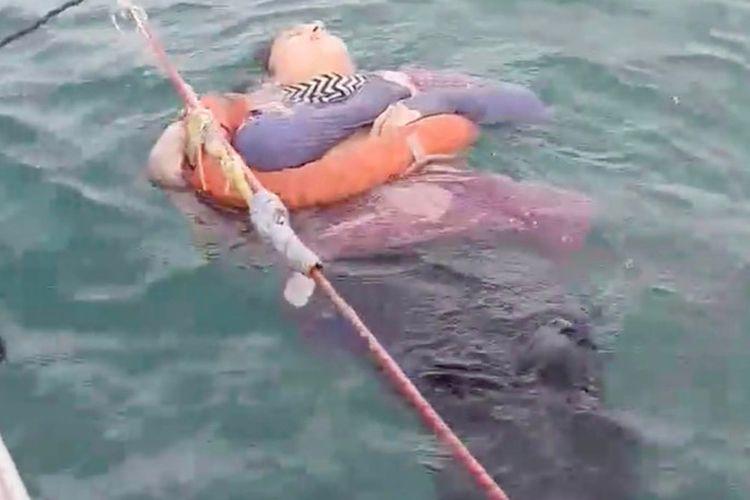 Angelica Gaitan (46) wanita yang hilang sejak September 2018 ditemukan masih hidup di tengah laut pada 26 September 2020.