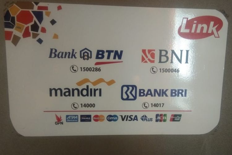 Ciri ATM Link atau ATM Himbara