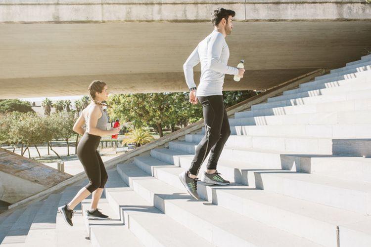 Naik-turun tangga dapat dimanfaatkan untuk mengukur kesehatan jantung kita.