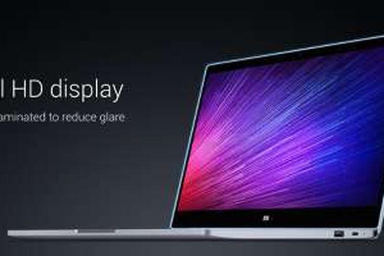 Laptop perdana dari Xiaomi, Mi Notebook Air