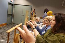 Satu Sekolah di AS Ajarkan Angklung ke Murid-muridnya