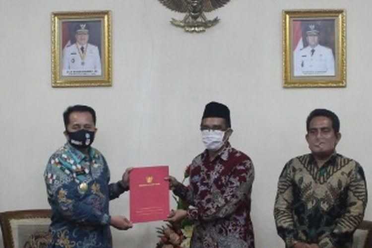 IAIN Manado Berkunjung ke Kantor Pemprov Sulawesi Utara.