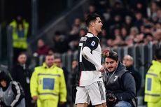 Diganti, Ronaldo Tinggalkan Stadion Sebelum Juventus Vs AC Milan Usai