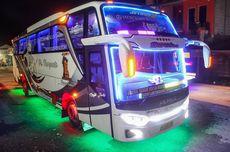 Modifikasi Lampu Bus Bikin Hangus Garansi Karoseri
