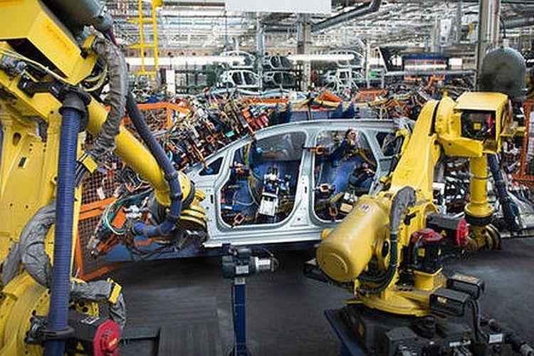 Robot di pabrik VW