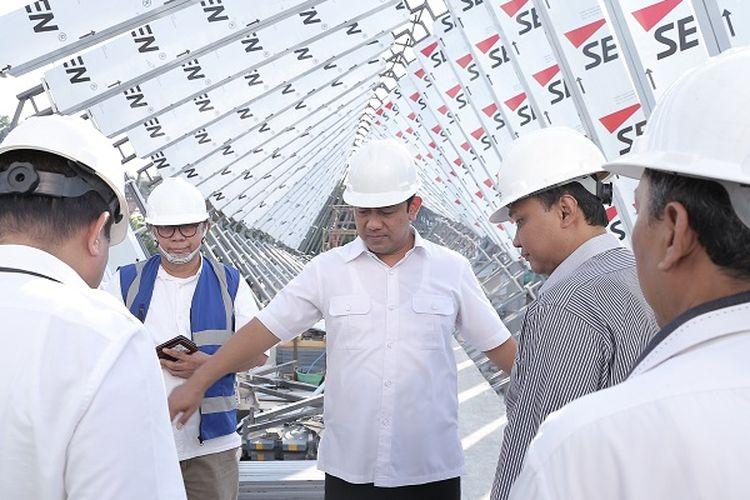 Hendrar Prihadi pantau pembangunan infrastruktur di Pandanaran
