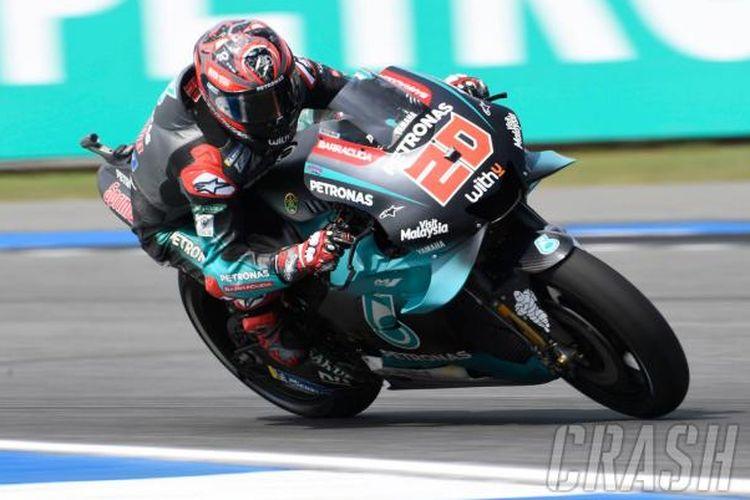 Fabio Quartararo di GP Thailand