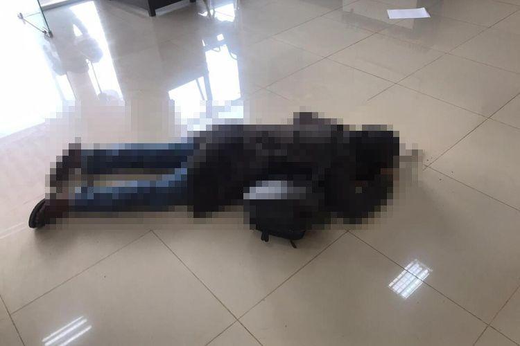 Pria yang melakukan penyerangan di Polres Kepulauan Meranti, Riau, tewas ditembak petugas, Rabu (11/3/2020).